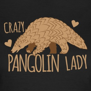 crazy pangolin lady T-Shirts - Women's T-Shirt