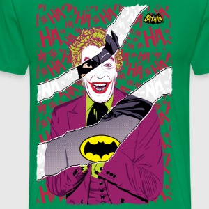 DC Comics Batman Retro Villain Joker Mash Up - Mannen Premium T-shirt