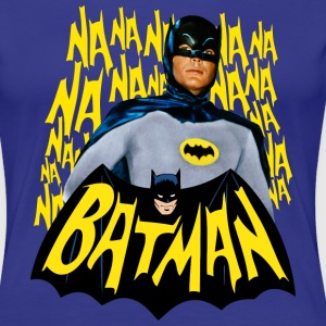 DC Comics Batman Vintage Actor Theme Song - Naisten premium t-paita
