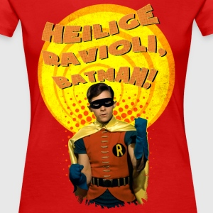 DC Comics Batman Robin Boy Wonder Quote - Vrouwen Premium T-shirt