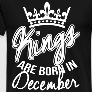 Born In December Birthday T-Shirts - Männer Premium T-Shirt