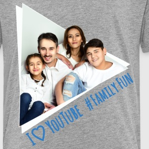 Family Fun Foto Miley Cirhan Robert Aynur - Teenager Premium T-Shirt
