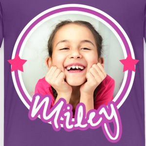Mileys World Porträt Foto Miley Lacht - Kinder Premium T-Shirt