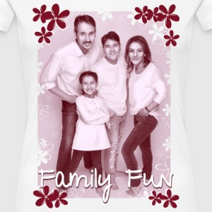 Family Fun Foto Miley Cirhan Robert Aynur - Frauen Premium T-Shirt