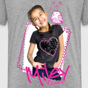 Mileys World Miley Süßes Foto Mit Vogel - Teenager Premium T-Shirt