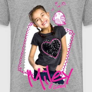 Mileys World Miley Süßes Foto Mit Vogel - Kinder Premium T-Shirt