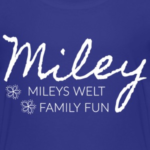 Mileys World Schrift Mileys Welt Family Fun - Kinder Premium T-Shirt