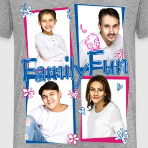 Family Fun Miley Cihan Robert Aynur Namen - Teenager Premium T-Shirt