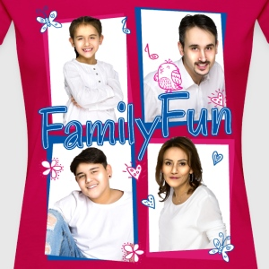 Family Fun Miley Cihan Robert Aynur Namen - Frauen Premium T-Shirt