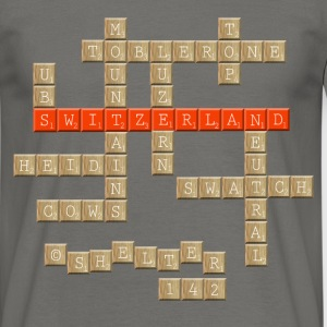 Scrabble - Switzerland - Männer T-Shirt