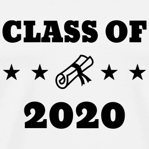 Class of 2020 - School - Schule - Ecole - Student Tee shirts - T-shirt Premium Homme