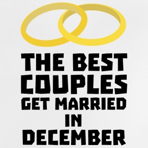 The best couples in December S0pn6 Baby Shirts  - Baby T-Shirt
