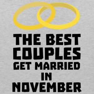 The best couples in NOVEMBER S53wp T-Shirts - Women's Organic V-Neck T-Shirt by Stanley & Stella