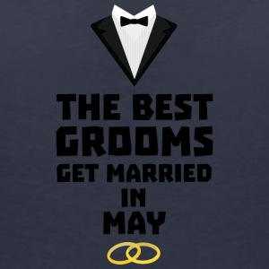 The best groom in the Mai S4t8z T-Shirts - Women's V-Neck T-Shirt