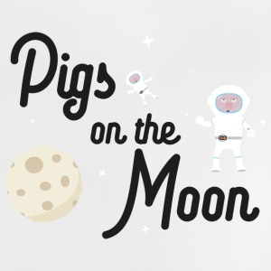 Pigs on the Moon Sky06 Baby Shirts  - Baby T-Shirt