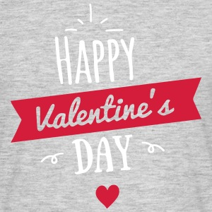 Happy Valentines Day T-Shirts - Männer T-Shirt