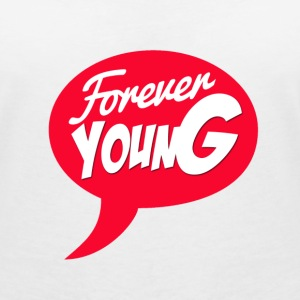 Forever young Tee shirts - T-shirt bio col en V Stanley & Stella Femme
