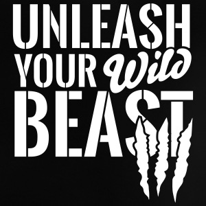 Unleash your wild Beast Babyskjorter - Baby-T-skjorte