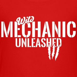 Wilder Mechaniker entfesselt T-Shirts - Teenager Premium T-Shirt