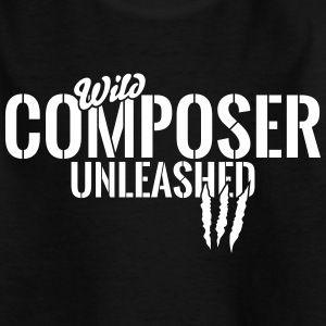 Wilder Komponist entfesselt T-shirts - Teenager-T-shirt