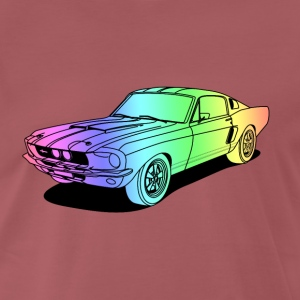 cool car colourful T-Shirts - Men's Premium T-Shirt