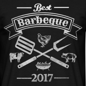 best barbeque 2017 - Männer T-Shirt