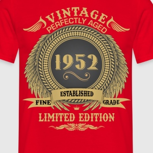 Vintage Perfectly Aged 1952 Limited Edition T-Shirts - Men's T-Shirt