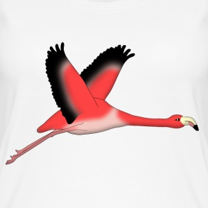 Flying Flamingo Tops - Women's Organic Tank Top by Stanley & Stella