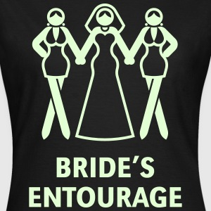 Bride's Entourage (Hen Night / Bachelorette Party) T-Shirts - Women's T-Shirt