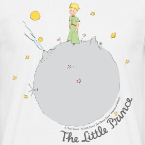 The Little Prince Asteroid B612 Illustration - Men's T-Shirt