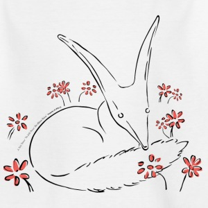 The Little Prince Fox In The Rose Garden - Teenage T-shirt