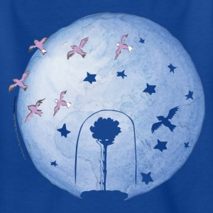 The Little Prince Rose Under Cover And Earth - Kids' T-Shirt