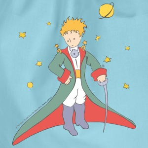 The Little Prince Portrait Illustration - Drawstring Bag