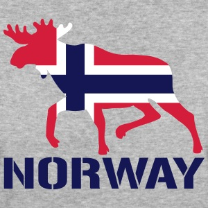Elch Norwegen Flagge T-Shirts - Frauen Bio-T-Shirt