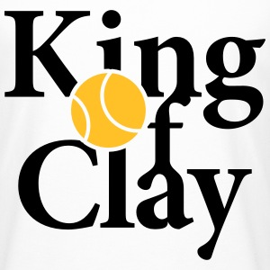 King of Clay Tennis Ball T-Shirts - Männer Urban Longshirt