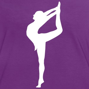 Yoga, Tänzerin, Turnerin T-Shirts - Frauen Kontrast-T-Shirt