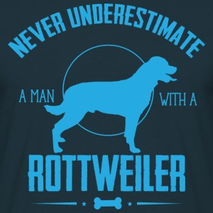 Dog Rottweiler NUM T-Shirts - Men's T-Shirt