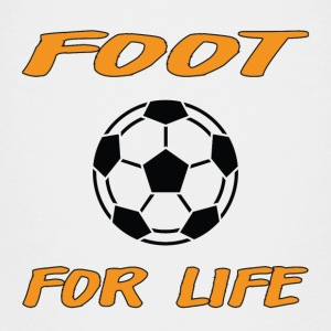 Foot for life Shirts - Teenage Premium T-Shirt