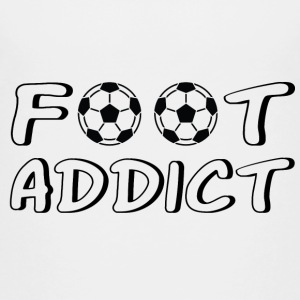 Foot addict Shirts - Kids' Premium T-Shirt