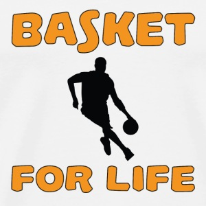 Basket for life T-Shirts - Men's Premium T-Shirt