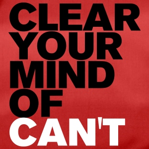 Clear your Mind - Sporttasche