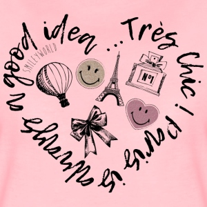 SmileyWorld Trés Chic! - Vrouwen Premium T-shirt