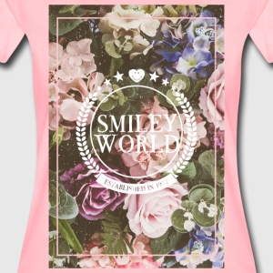 SmileyWorld Various Flowers In Bloom - Vrouwen Premium T-shirt