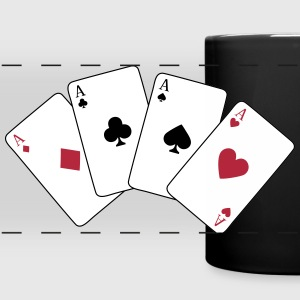 Card Game, Poker, Ace Mugs & Drinkware - Full Color Panoramic Mug