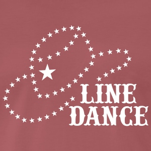 LINE DANCE HAT T-Shirts - Men's Premium T-Shirt
