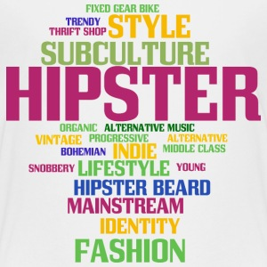 Hipster Shirts - Teenage Premium T-Shirt