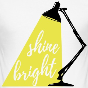Shine Bright 2c T-Shirts - Männer Slim Fit T-Shirt