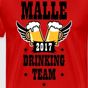 06 Malle 2017 Drinking Team Beer Bier Wings T-Shir - Männer Premium T-Shirt
