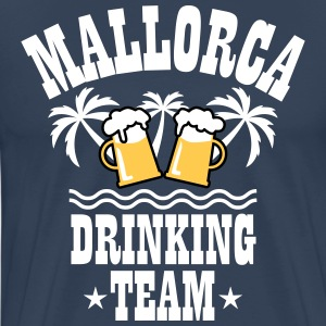 09 Mallorca Drinking Team Beer Mass Bier Party T-S - Männer Premium T-Shirt