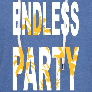 Endless Party Beach - Leichtes Kapuzensweatshirt Unisex